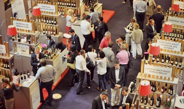 vinexpo stands